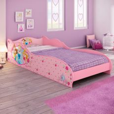 Mini-Cama-Princesas-Disney-Plus---Pura-Magia-Rosa