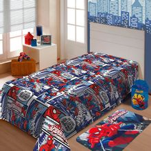 manta-infantil-marvel-soft-spider-man-jolitex