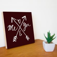 Quadro-Decorativo-20x20-cm-Me-E-You-Preto