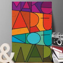 placa-decorativa-make-art-not-war_Principal-PL-130A4P-COL
