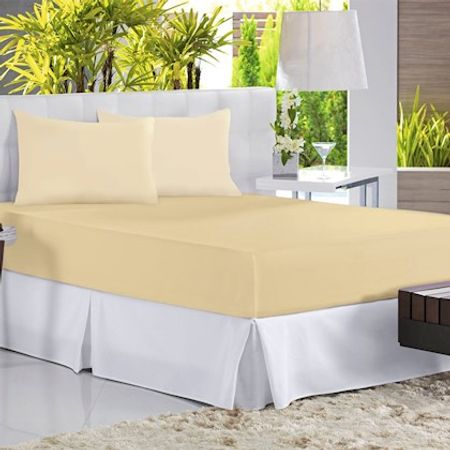 Enxovais Cama Adulto Casal Queen Lencol Avulso Altenburg -Malha in Cotton com...