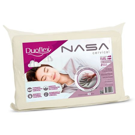 Travesseiro Duoflex -Nasa Cervical