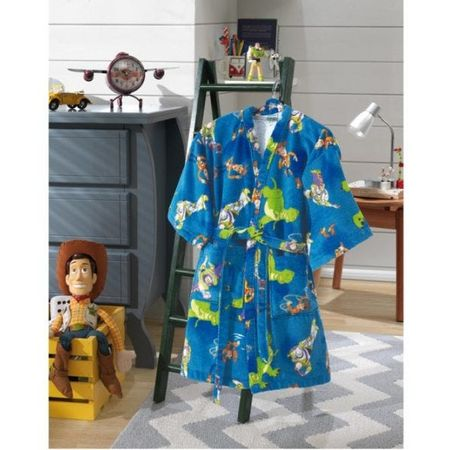 Roupao Infantil Dohler -Velour Toy Story Azul M