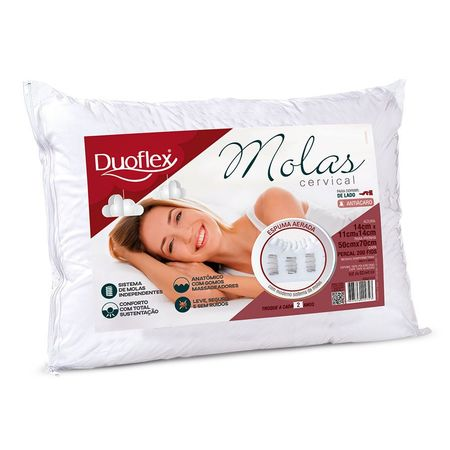 Travesseiro Duoflex -Molas Cervical